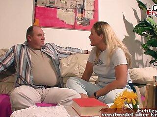 German blonde big breast milf overprotect fuck